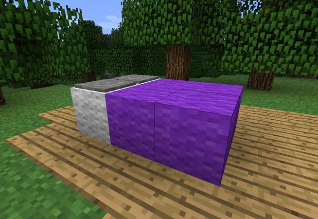 how to make lava in mine craf