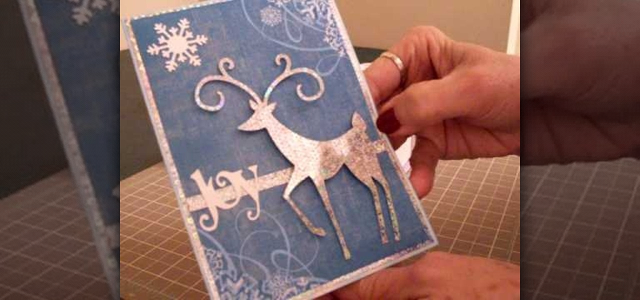 Ideas To Make A Christmas Card Part - 40: How To Make A Christmas Card Using Cricut Winter Woodland « Christmas Ideas  :: WonderHowTo