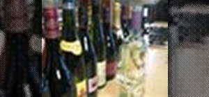 Choose a good bottle of wine to give as a gift