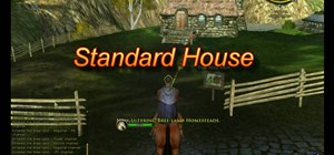 Buy your character a house in the MMORPG, Lord of the Rings Online