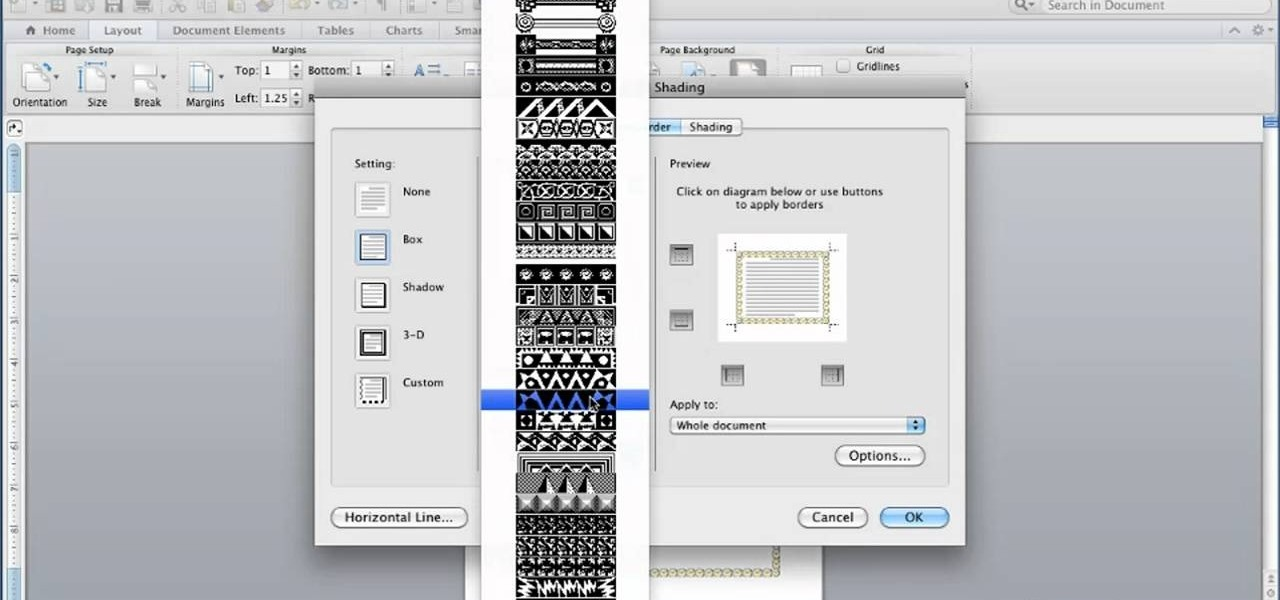 How to Set page borders in Microsoft Word for Mac 2011 « Microsoft