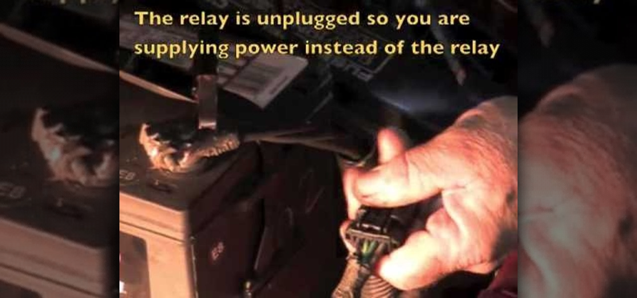 How To Diagnose A Problem With The Cooling Fan Relay On Chrysler Rhdiyautorepairwonderhowto: Cooling Fan Relay Location 98 Town Car At Gmaili.net