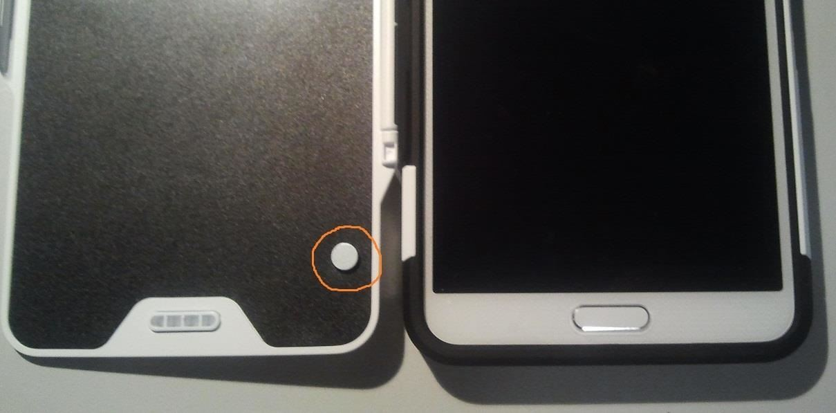 how to fix my samsung cases lock button