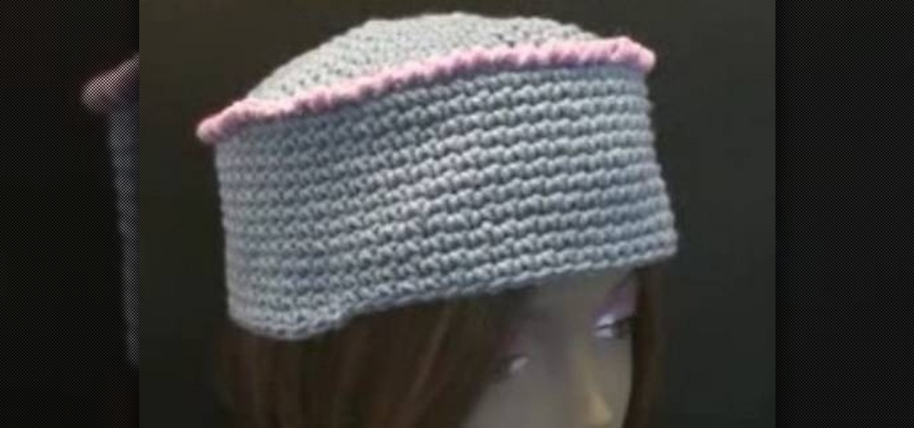 9281c75f5bd How to Make a cozy kufi box crochet hat for right handers « Knitting    Crochet    WonderHowTo