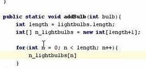 Program advanced arrays in Java