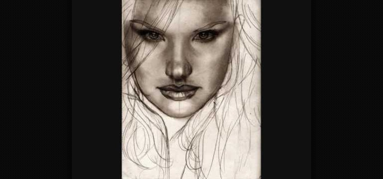How to Draw a realistic female face « Drawing ...