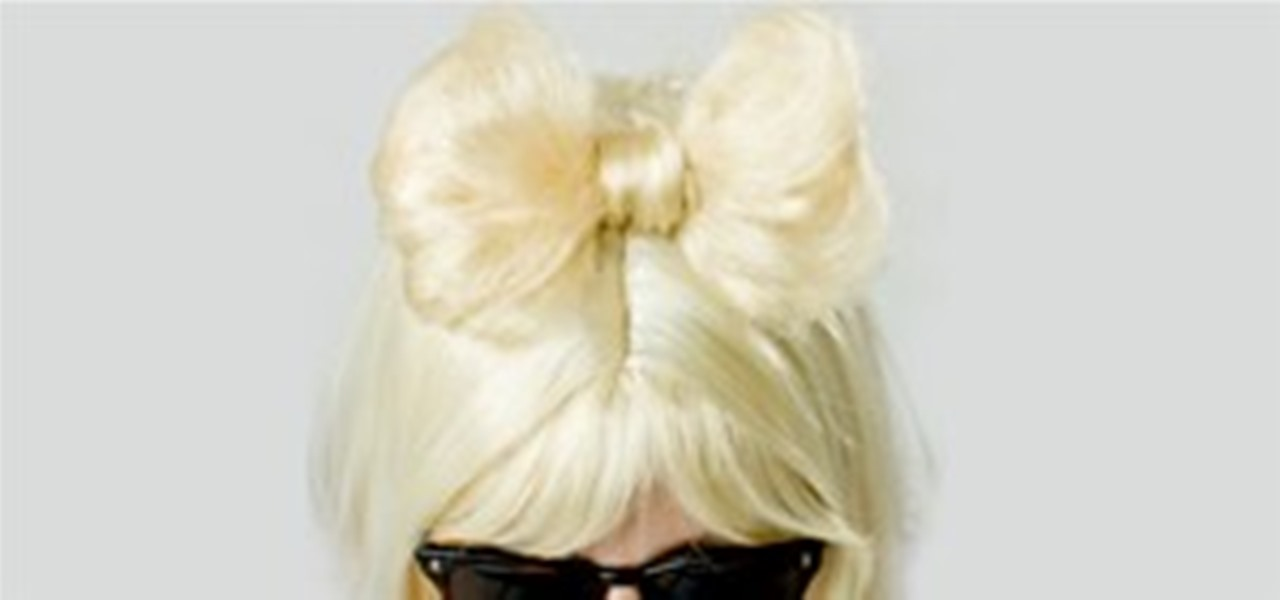 DIY Lady Gaga Hair Bow