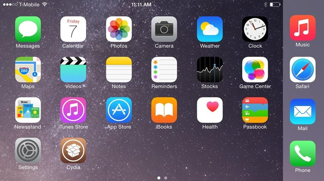 Get the iPhone 6 Plus' Resolution & Home Screen Landscape Mode on Your iPhone 6