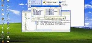 Change Windows XP start menu text