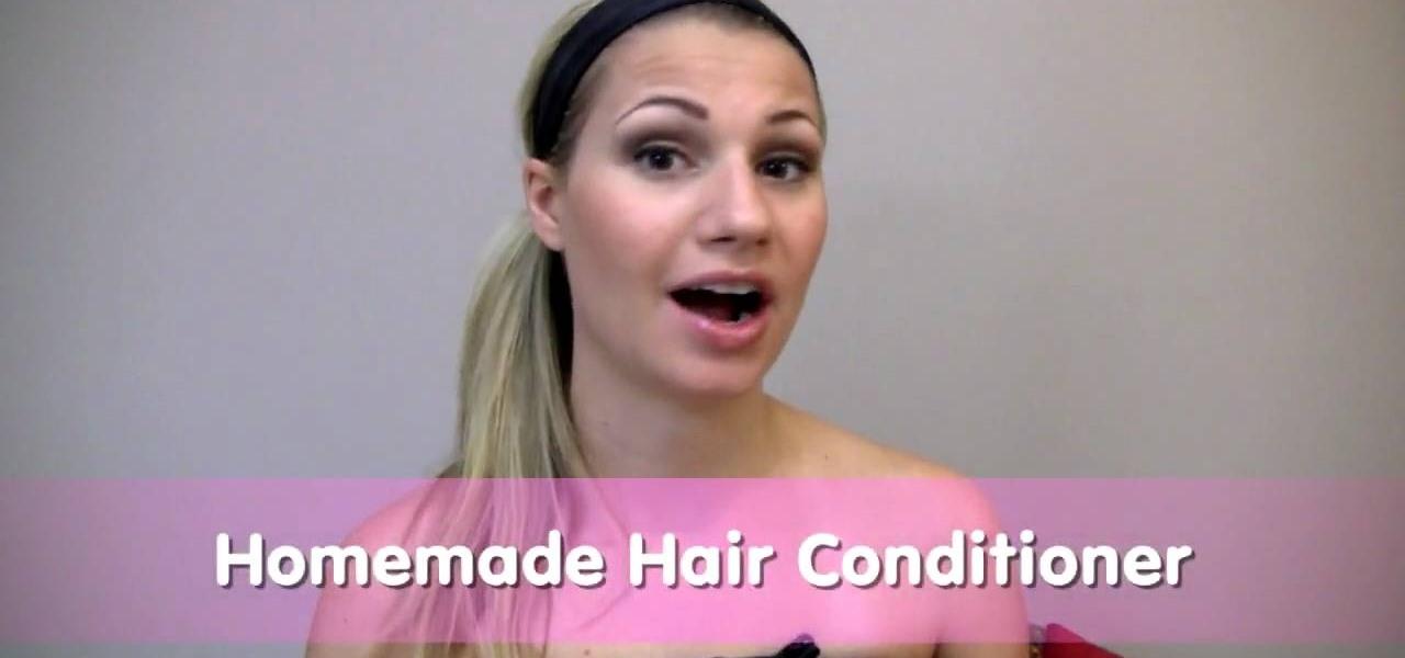 how to make homemade avocado hair conditioner