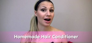 Make a good hair conditioner with mayo and avocados
