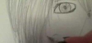 Draw an emo boy