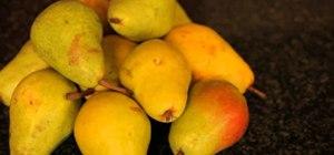 Grow pears and make bartlett pear preserves