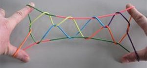 Create a string figure Jacob's Ladder in Cat's Cradle