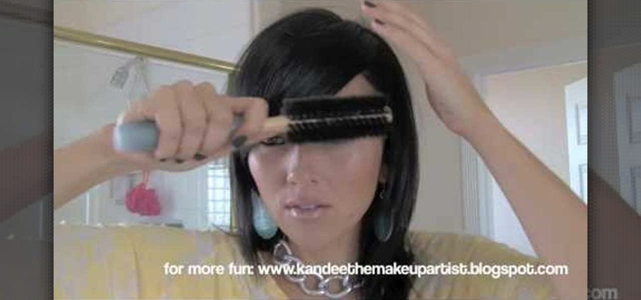 How To Get Side Swept Bangs Hairstyling Wonderhowto