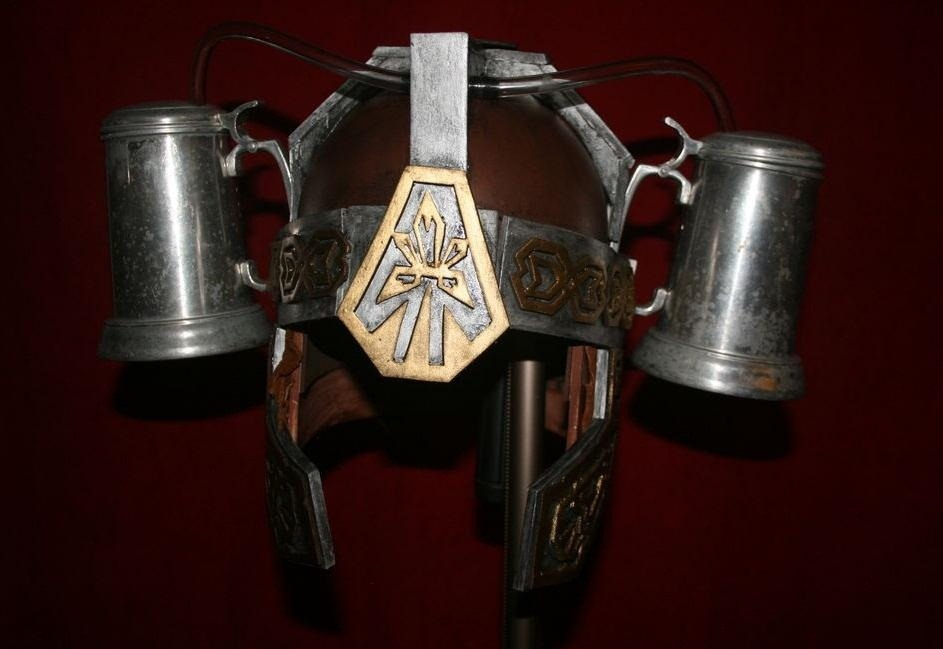 Get Drunk LOTR Style: How to Make Your Own Medieval Gimli Beer Helmet