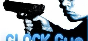 Make a fake Glock pistol prop with functional slide, trigger and magazine lock