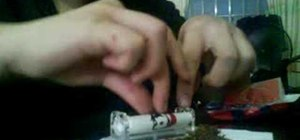 Roll a cigarette the easy way