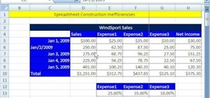 Fix other people's Microsoft Excel spreadsheets
