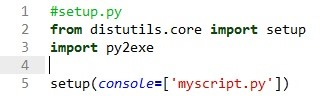 How to Convert Python Script to Exe