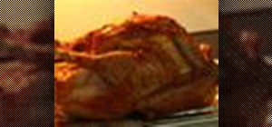 Cook a quick and easy perfect Thanksgiving turkey