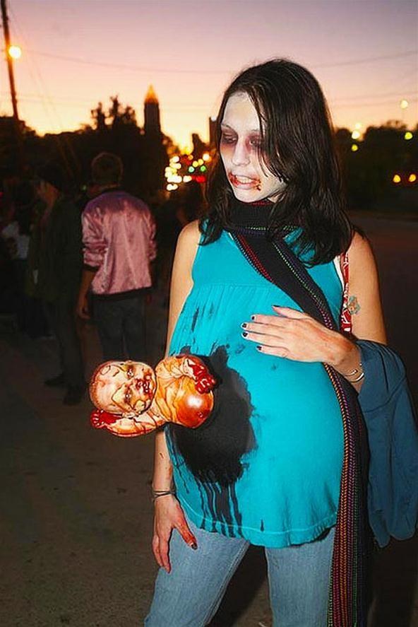 Pregnant Fetus Sucking Zombies