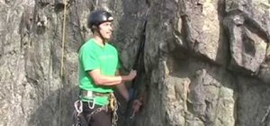 Bounce test while lead rock climbing big walls