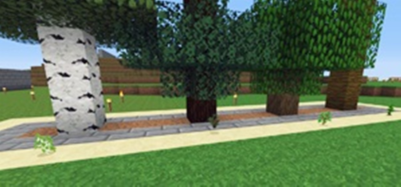 How To Build A Tree Farm In Minecraft For Easy Access To All Types Of Wood Minecraft Wonderhowto