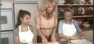 Make Christmas pecan dippers with Sandra Lee