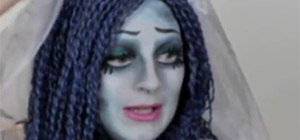 Make a Corpse Bride Costume for Halloween