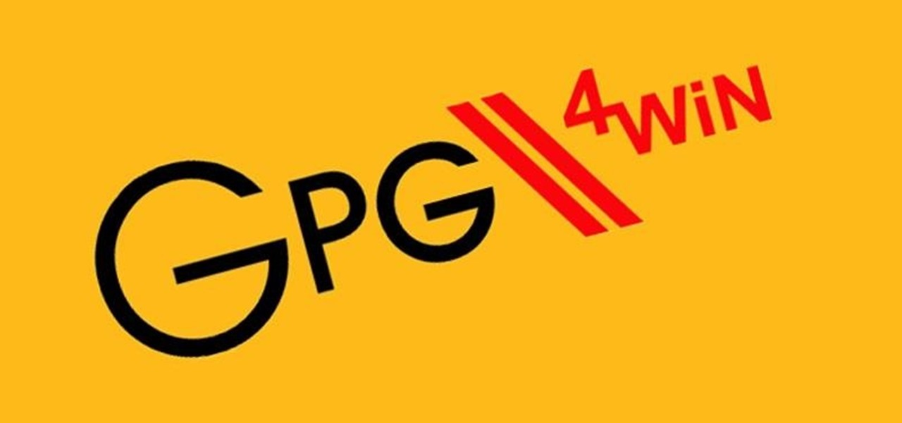 Use GPG4Win in Windows to Encrypt Files & Emails