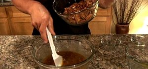 Make pecan pie filling