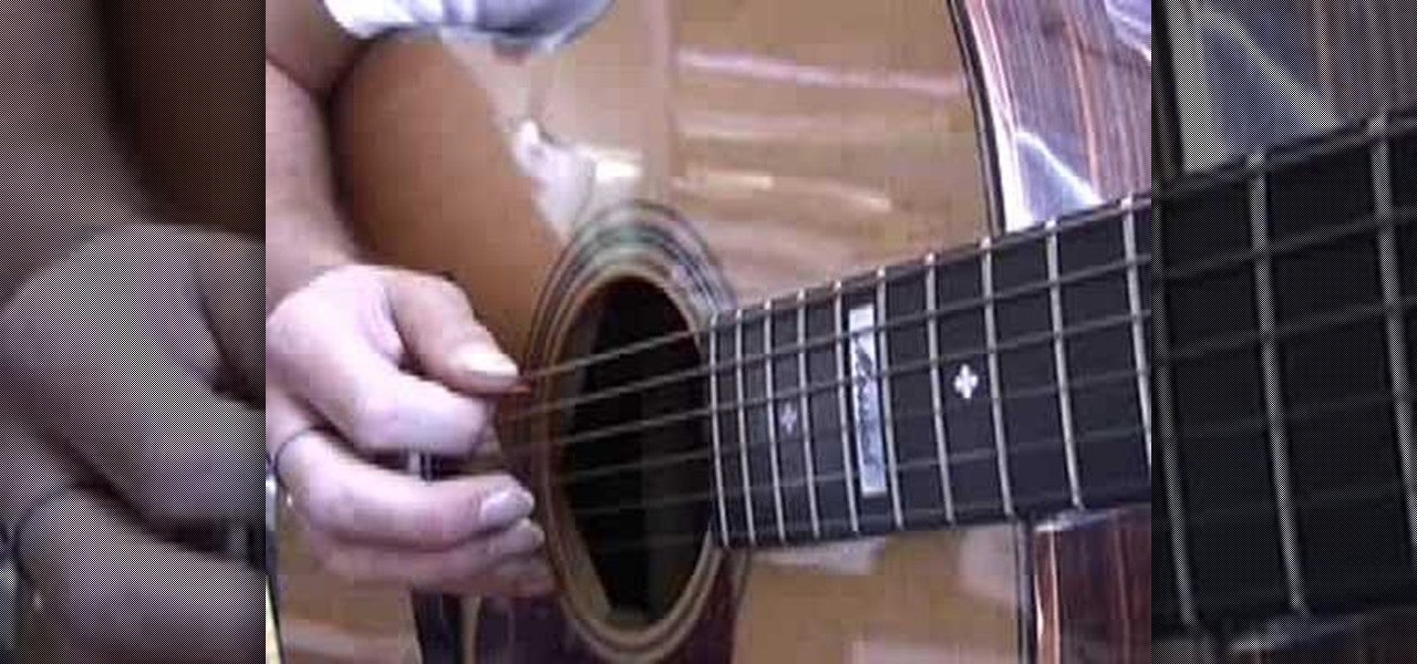 How to Play u0026quot;Wherever You Will Gou0026quot; by The Calling on guitar u00ab Acoustic Guitar