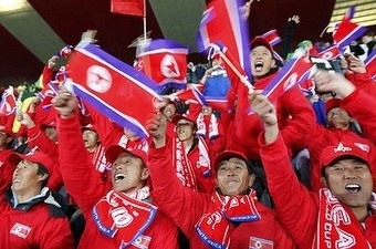 Are North Korean World Cup Fans Really Chinese Actors?