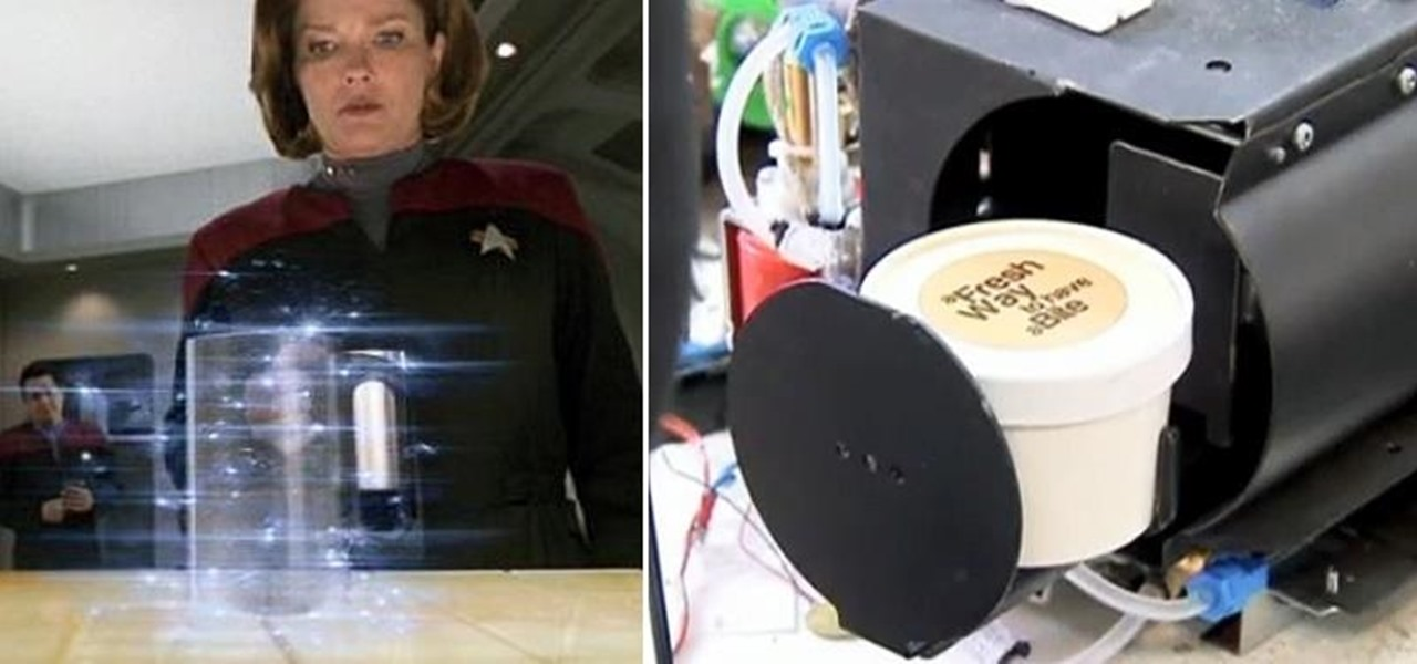 The Real-Life Star Trek Food Replicator