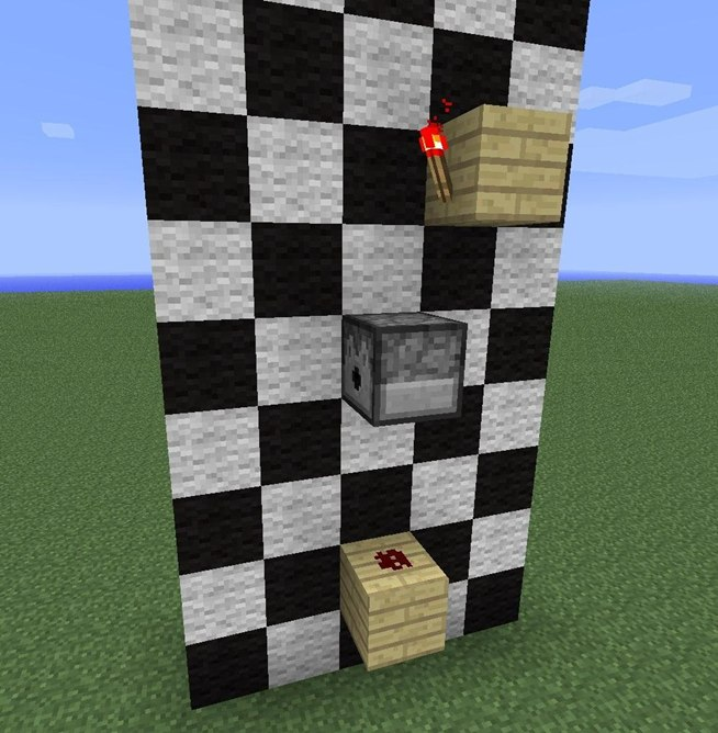 how to use a dispenser in minecraft