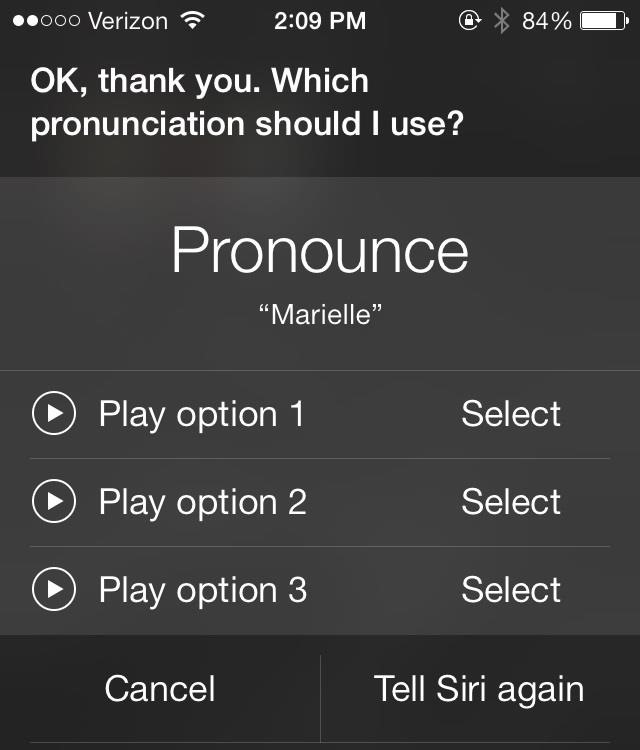 how to change name on iphone siri