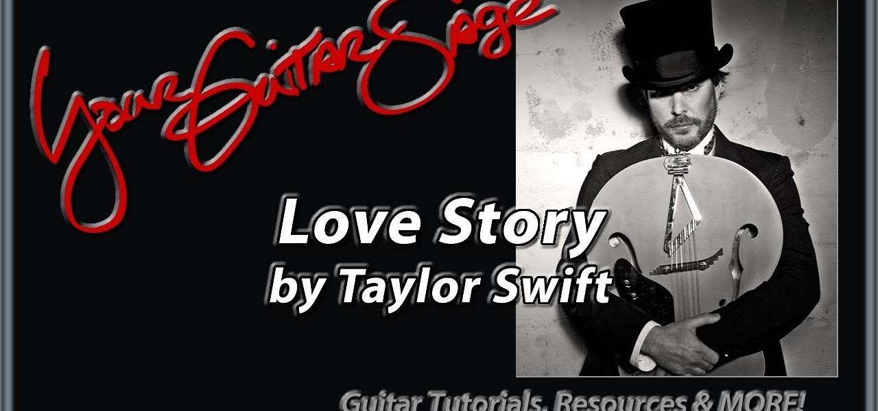 How To Play Love Story By Taylor Swift On Acoustic Guitar