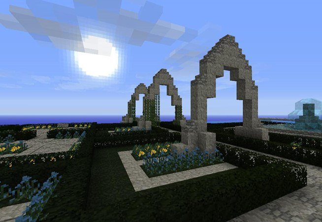 How To Make A Garden Gate In Minecraft