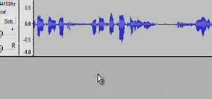 Make and publish a podcast using Audacity