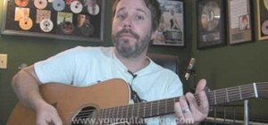 """Play """"Poker Face"""" by Lady Gaga on guitar"""