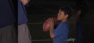 Do pregame throwing drills with Peyton Manning