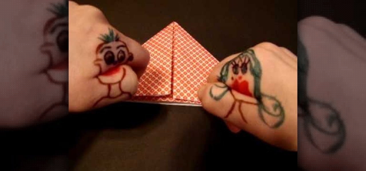 How To Origami A Beating Heart Like Mr And Mrs Hand Origami