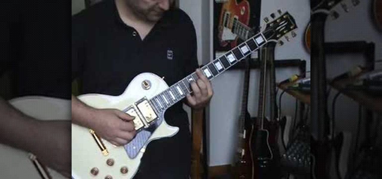 How To Play One By U2 On Electric Guitar Electric Guitar