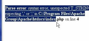 Program in PHP