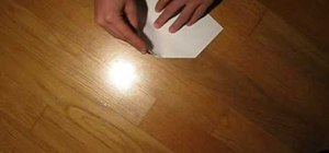 Make a fun paper airplane