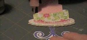 Make a paper cake