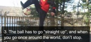 Do freestyle soccer Lemmens Around the World (ATW)