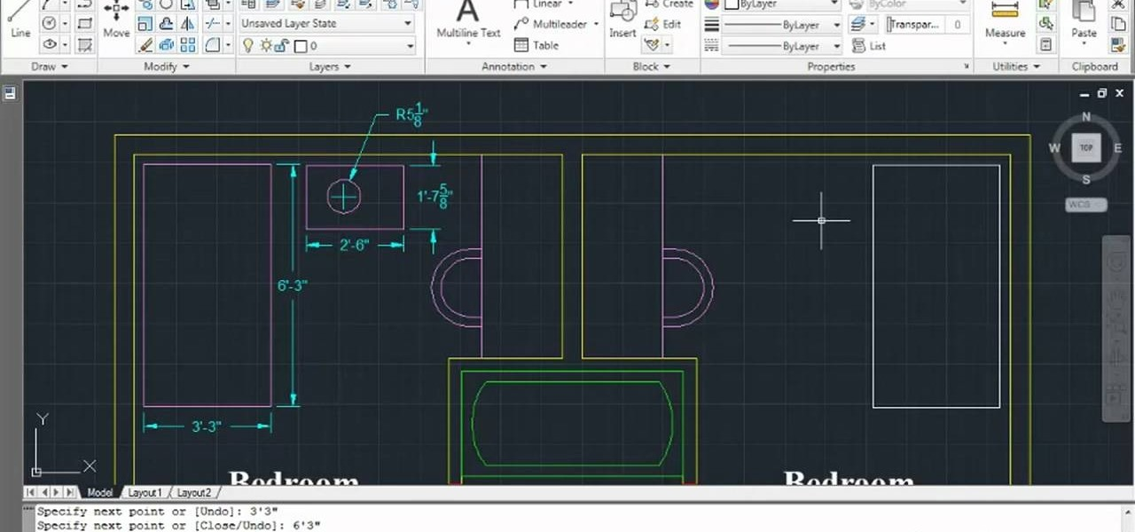 Drawing Lines In Dreamweaver : How to create geometrical shapes in autodesk autocad